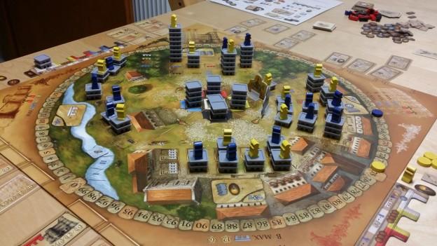 Vue d'ensemble du jeu Porta Nigra