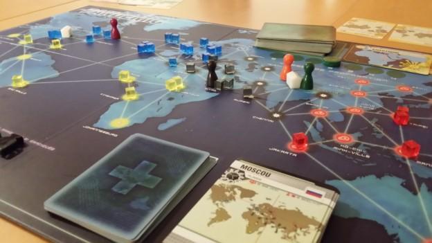 Plateau du jeu Pandemic